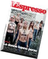 L'Espresso - 15.10.2015