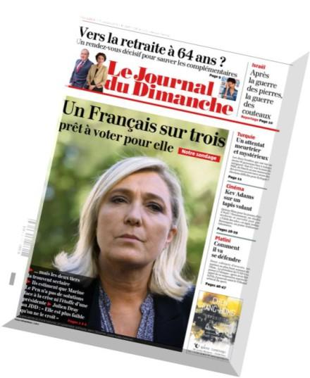 Download le journal du dimanche 11 octobre 2015 pdf magazine - Le journal du 11 metres ...