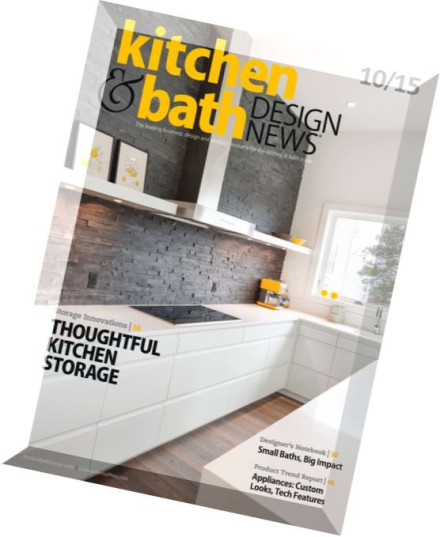 Download Kitchen Bath Design News October 2015 Pdf Magazine