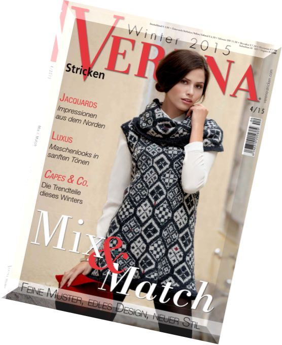 Download Verena Stricken – Winter 2015 - PDF Magazine