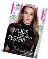 Elle Sweden - December 2015