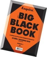 Esquire Spain - The Big Black Book - Otono-Invierno 2015