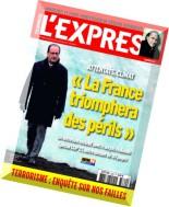 L'Express - 25 Novembre au 1 Decembre 2015