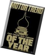 Motor Trend - January 2016