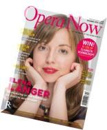 Opera Now - December 2015