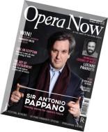 Opera Now - October 2015