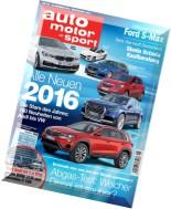auto motor und sport - 26 November 2015