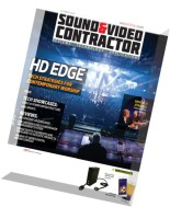 Sound & Video Contractor - October 2015