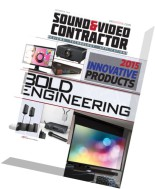 Sound & Video Contractor - December 2015