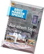 Briefmarken Spiegel - Dezember 2015