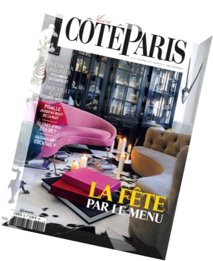 download vivre cote paris decembre 2015 janvier 2016. Black Bedroom Furniture Sets. Home Design Ideas