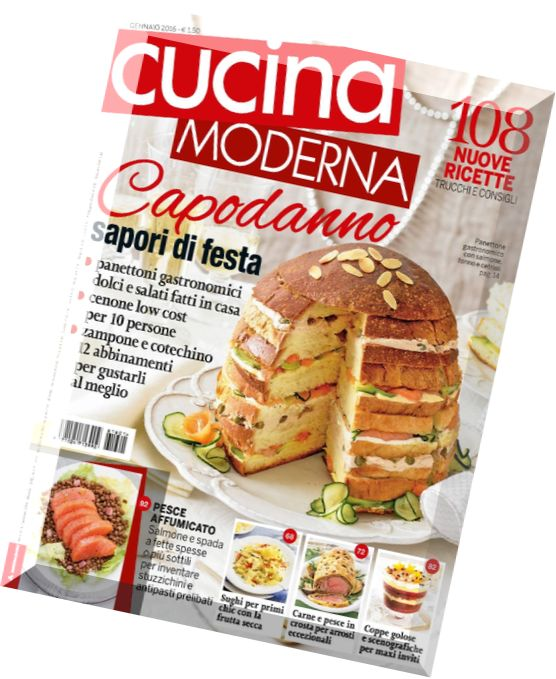 Download cucina moderna gennaio 2016 pdf magazine for Cucina moderna 2018 pdf