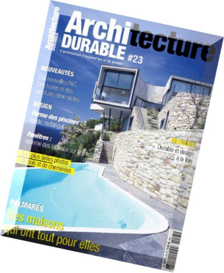 download architecture durable octobre decembre 2015 pdf magazine. Black Bedroom Furniture Sets. Home Design Ideas