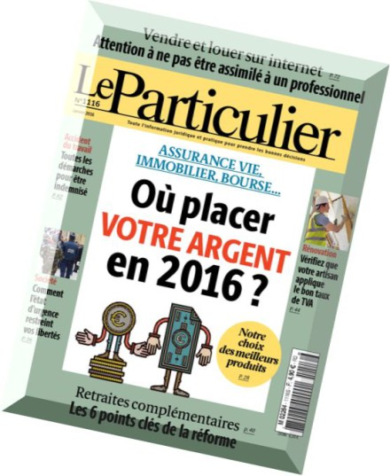 download le particulier janvier 2016 pdf magazine. Black Bedroom Furniture Sets. Home Design Ideas