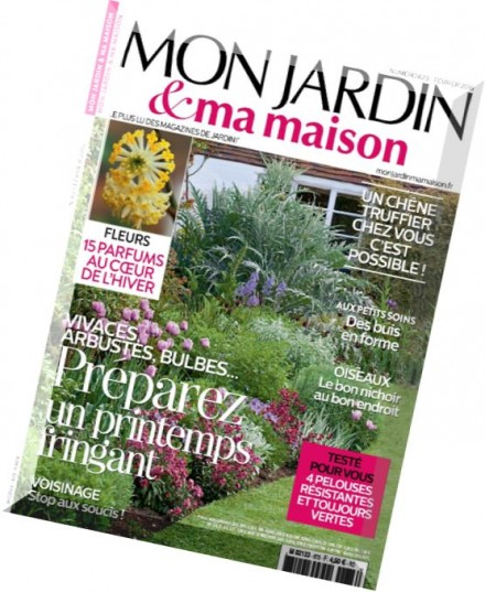 download mon jardin ma maison fevrier 2016 pdf magazine. Black Bedroom Furniture Sets. Home Design Ideas