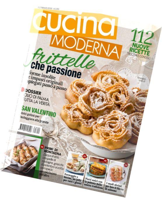 Download cucina moderna febbraio 2016 pdf magazine for Cucina moderna 2018 pdf