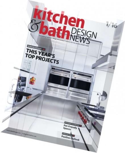 Download Kitchen Bath Design News January 2016 Pdf