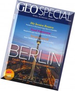 Geo Special Magazin - Berlin Februar N 01, 2016