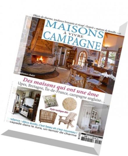 Download maisons a vivre campagne fevrier mars 2016 for Architecture a vivre magazine