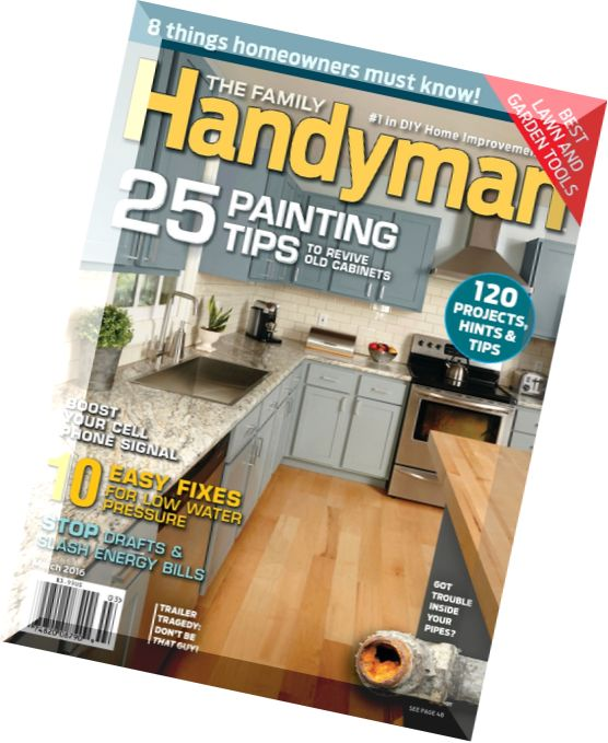 Download the family handyman march 2016 pdf magazine for The family handyman pdf