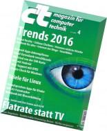c't magazin - 04-2016 (06.02.2016)