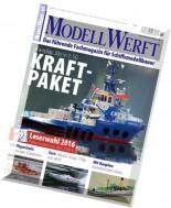 ModellWerft - Marz 2016