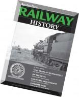 Australian Railway History - February 2016