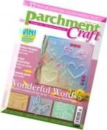Parchment Craft - March 2016