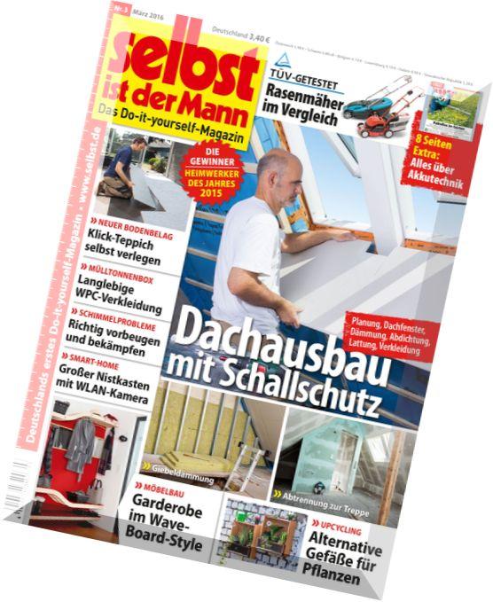 download selbst ist der mann marz 2016 pdf magazine. Black Bedroom Furniture Sets. Home Design Ideas
