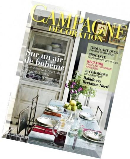 download campagne decoration mars avril 2016 pdf magazine. Black Bedroom Furniture Sets. Home Design Ideas