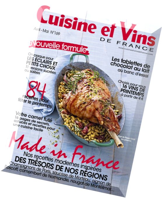 download cuisine et vins de france avril mai 2016 pdf magazine. Black Bedroom Furniture Sets. Home Design Ideas