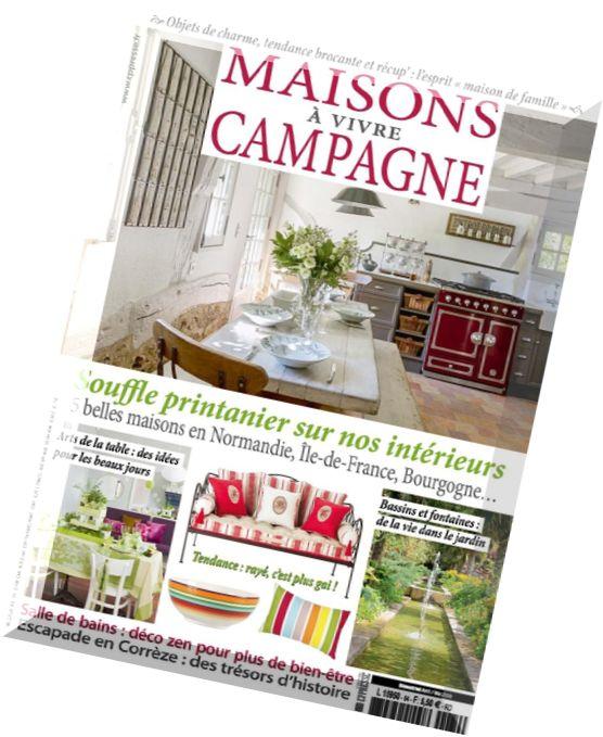 Download maisons a vivre campagne avril mai 2016 pdf magazine - Maison a vivre magazine ...