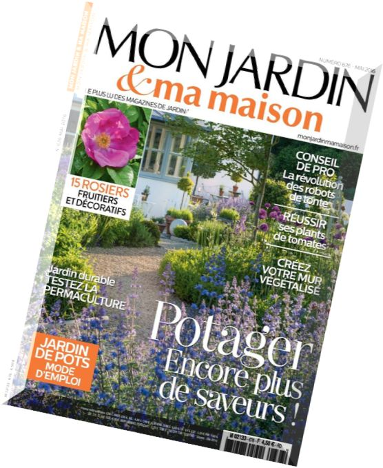 download mon jardin ma maison mai 2016 pdf magazine. Black Bedroom Furniture Sets. Home Design Ideas
