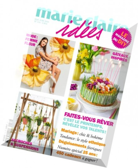 Download marie claire idees mai juin 2016 pdf magazine for Marie mai miroir download