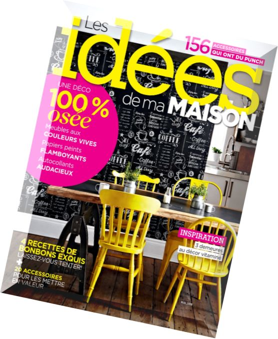Download les idees de ma maison mai 2016 pdf magazine for Idees de ma maison magazine