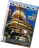Australian National Construction Review - April 2016