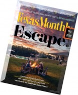 Texas Monthly - May 2016
