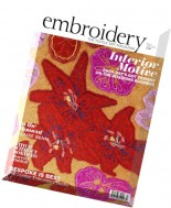 Embroidery Magazine - May-June 2016