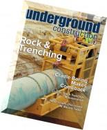 Underground Construction - May 2016