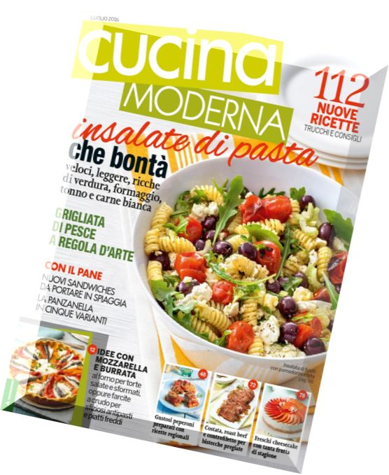 Cucina moderna luglio 2015