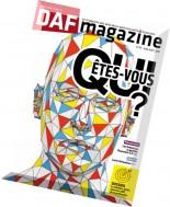 DAF Magazine - Juin-Aout 2016