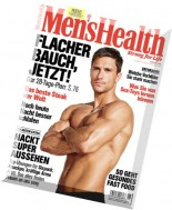 Men's Health Germany - August 2016