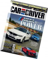 Car and Driver Spain - Agosto 2016