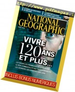 National Geographic France - Aout 2016