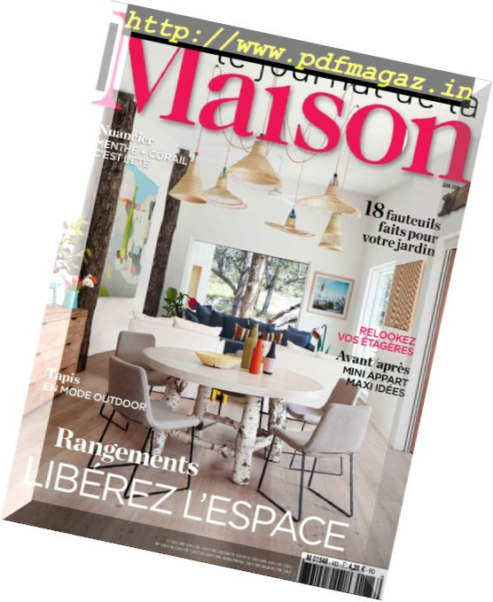 download le journal de la maison juin 2016 pdf magazine. Black Bedroom Furniture Sets. Home Design Ideas