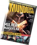 Mundo dos Super-Herois - Agosto 2016