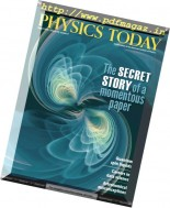 Physics Today - August 2016