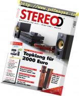 Stereo - September 2016