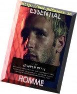 Essential Homme - August-September 2016