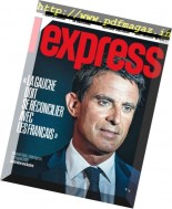 L'Express - 24 au 30 Aout 2016